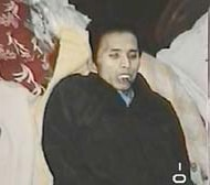 Weighing less than 100 pounds, 34-year-old Li Yuanguang's body photographed shortly after his death.