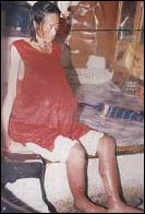 Ms. Lingxia Wu, 37, shortly before she died from torture under Jiang Zemin's persecution of Falun Gong.