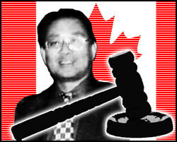 The Ontario Superior Court directed Vice Consul General of China Pan Xinchun's bank to seize applicable assets after finding him liable for defaming a Falun Gong prac¬titioner.