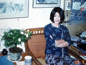 Xu Na, pictured here, is at risk of long-term imprisonment because she practices Falun Gong.