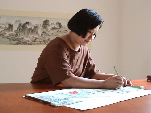 Acclaimed painter Zhang Cuiying recovered from rheumatoid arthritis through practicing Falun Gong