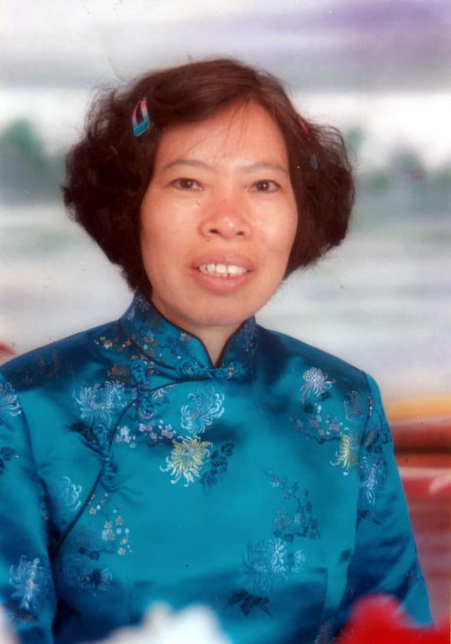 Ms. Xiang prior to her arrest