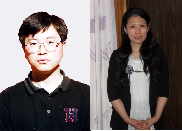 Mr. Zhou Xiangyang, who is near death in a Chinese prison, and his wife Li Shanshan, now in a labor camp