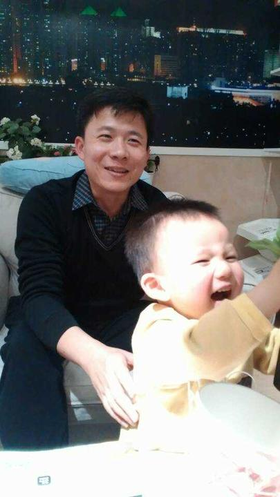 Mr. Zeng and his son
