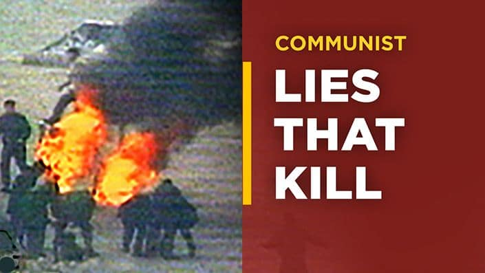 """The """"Self-Immolation"""" Hoax"""