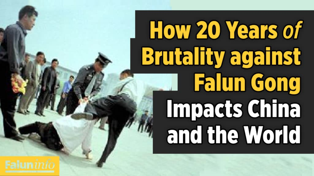 How 20 Years of Brutality against Falun Gong Impacts China and the World