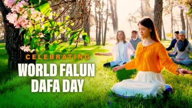 Celebrating World Falun Dafa Day